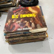 Discos de vinilo: LOTE DE 41 DISCOS DE MÚSICA ROCK Y OTROS . VER FOTOS. Lote 218988123