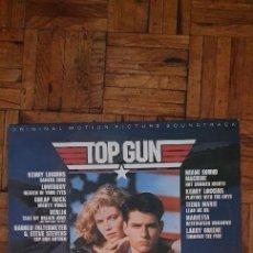 Discos de vinilo: TOP GUN (ORIGINAL MOTION PICTURE SOUNDTRACK) SELLO: CBS – CBS 70296, CBS – SC 40323 FORMATO: VINYL. Lote 218989626