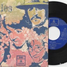 Disques de vinyle: THE BEATLES - GET BACK / DON'T LET ME DOWN (SINGLE EMI-ODEON 1969 ESPAÑA) MUY BUEN ESTADO. Lote 218989878