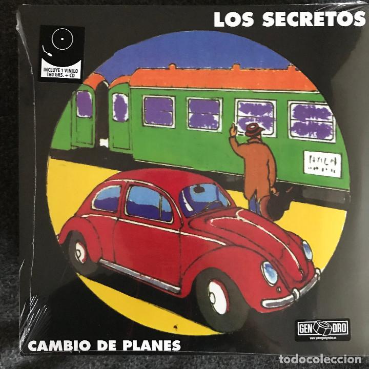 SECRETOS - CAMBIO DE PLANES (1993) - LP + CD REEDICIÓN DRO 2017 NUEVO (Música - Discos - LP Vinilo - Grupos Españoles de los 90 a la actualidad)