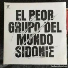 Discos de vinilo: SIDONIE - EL PEOR GRUPO DEL MUNDO (2016) - LP REEDICIÓN SONY 2018 NUEVO. Lote 218996076