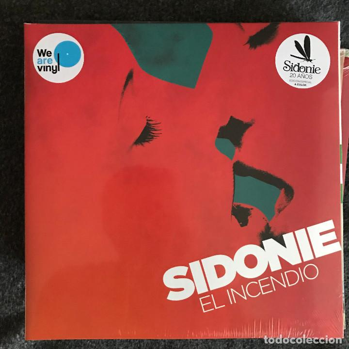 SIDONIE - EL INCENDIO (2009) - LP REEDICIÓN SONY 2017 NUEVO (Música - Discos - LP Vinilo - Grupos Españoles de los 90 a la actualidad)