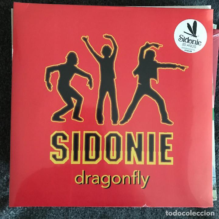 SIDONIE - DRAGONFLY - LP REEDICIÓN SONY 2018 NUEVO (Música - Discos - LP Vinilo - Grupos Españoles de los 90 a la actualidad)