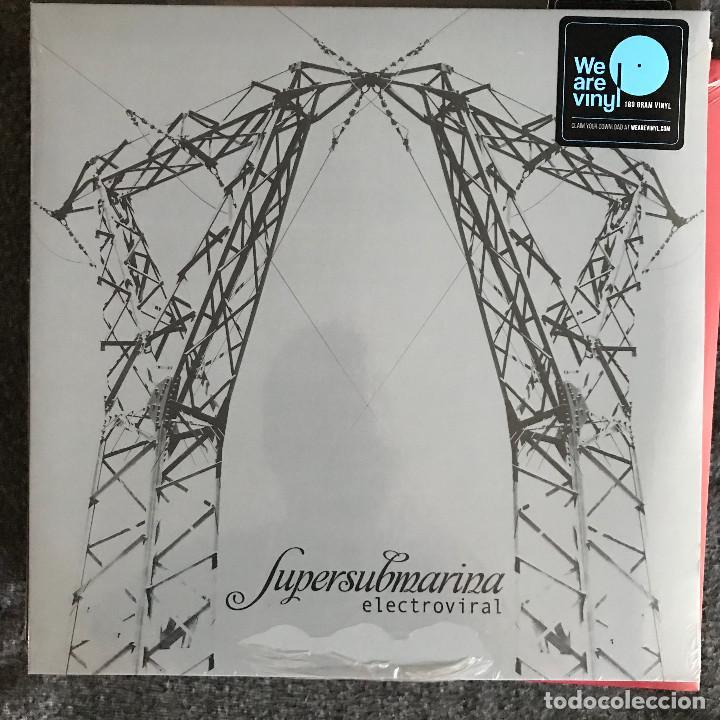 SUPERSUBMARINA - ELECTROVIRAL (2010) - LP REEDICIÓN SONY 2018 NUEVO (Música - Discos - LP Vinilo - Grupos Españoles de los 90 a la actualidad)
