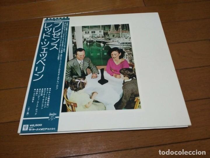 VINILO EDICIÓN JAPONESA DEL LP DE LED ZEPPELIN PRESENCE (Música - Discos - LP Vinilo - Pop - Rock - Extranjero de los 70)