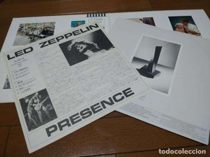 Discos de vinilo: VINILO EDICIÓN JAPONESA DEL LP DE LED ZEPPELIN PRESENCE - Foto 2 - 218998927