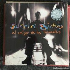 Discos de vinilo: SURFIN' BICHOS - EL AMIGO DE LAS TORMENTAS (1994) - LP + CD REEDICIÓN SONY 2017 NUEVO. Lote 218999195