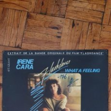 "Discos de vinilo: IRENE CARA ‎– FLASHDANCE ... WHAT A FEELING SELLO: CASABLANCA ‎– 812 353-1 FORMATO: VINYL, 12"". Lote 218999757"