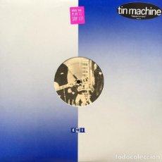 Discos de vinilo: TIN MACHINE-DAVID BOWIE HEAVEN`S IN HERE. Lote 219006428