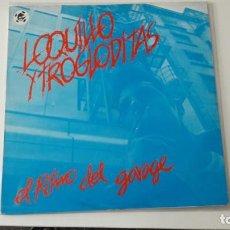 Discos de vinilo: LOQUILLO Y LOS TROGLODITAS EL RITMO DEL GARAGE REEDICIÓN 1983 3 CIPRESES. Lote 219009231