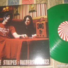 Discos de vinilo: THE WHITE STRIPES UNIVERSAL BUZZ RED ZEBRA 2004 PROMOTIONAL RADIO RECORD LIVE OG GMBH. Lote 219015642