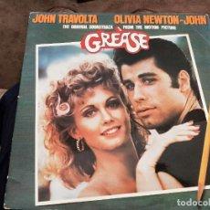 Discos de vinilo: GREASE (THE ORIGINAL SOUNDTRACK FROM THE MOTION PICTURE) (2XLP, ALBUM, GAT) SELLO:RSO CAT. Nº: 26 58. Lote 219017157