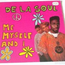 Discos de vinilo: DE LA SOUL - ME MYSELF AND I - 1989. Lote 219023412