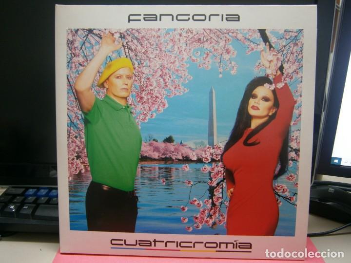 FANGORIA- CUATRICROMIA_ 2 LP.S VINILO + CD (Música - Discos - LP Vinilo - Grupos Españoles de los 90 a la actualidad)