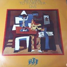 Discos de vinilo: RETURN TO FOREVER LIVE STANLEY CLARKE CHICK COREA GAYLE MORAN GERRY BROWN. Lote 219027827