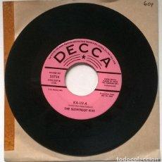 Discos de vinilo: THE SLEWFOOT FIVE. KA-LU-A/ DRIFTING AND DREAMING. DECCA USA 1967 SINGLE PROMOCIONAL. Lote 219027847