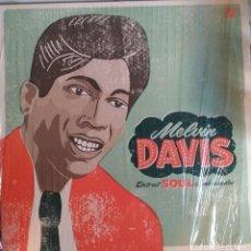 Discos de vinilo: MELVIN DAVIS DETROIT SOUL AMBASSADOR R'N'B SOUL FUNK VAMPISOUL ESPAÑA 2010 NM. Lote 219028027