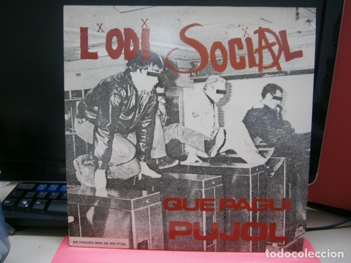 VINILO LÓDI SOCIAL -QUE PAGUI PUJOL (Música - Discos - LP Vinilo - Grupos Españoles de los 90 a la actualidad)