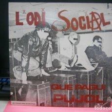 Discos de vinilo: VINILO LÓDI SOCIAL -QUE PAGUI PUJOL. Lote 219028183
