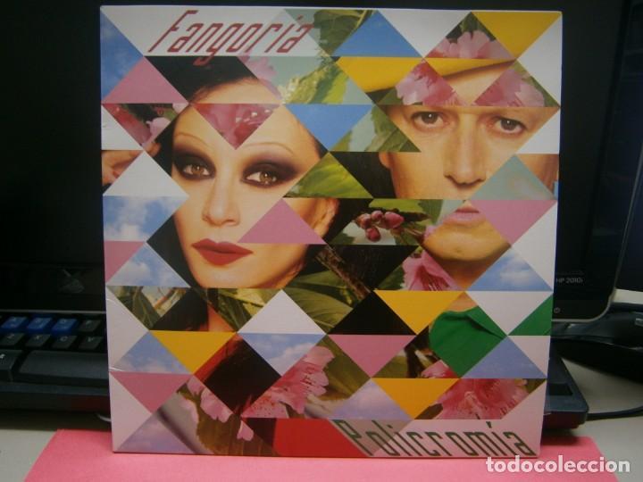 POLICROMIA VINILO DE FANGORIA + CD FIRMADO (Música - Discos - LP Vinilo - Grupos Españoles de los 90 a la actualidad)