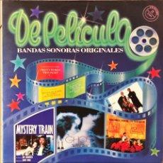 Discos de vinilo: LOTE 2 RECOPILATORIOS DOBLES BANDAS SONORAS. Lote 219035182