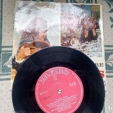 Discos de vinilo: EP DE FOLKLORE LEONES( GRUPO DE DANZAS DE LA CASA DE LEON DE MADRID) AÑOS 60. Lote 219038053