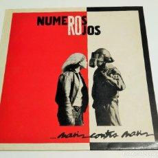 Discos de vinilo: NÚMEROS ROJOS – NARIZ CONTRA NARIZ. Lote 219044905