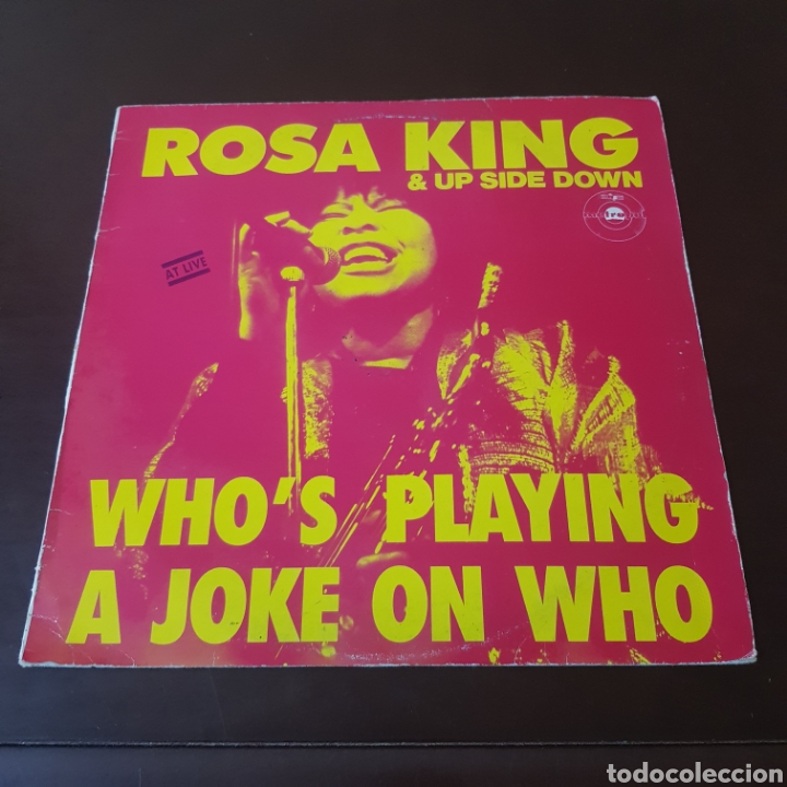 Discos de vinilo: ROSA KING & UP SIDE DOWN - WHOS PLAYING A JOKE ON WHO - Foto 6 - 219054777