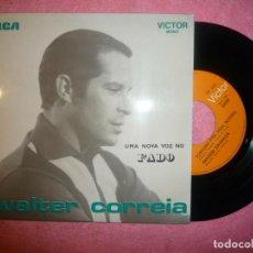 """Discos de vinilo: 7"""" WALTER CORREIA - TORTURA PRA VIDA INTEIRA - EP - PORTUGAL PRESS - RCA TP-444 (EX/EX). Lote 219059656"""