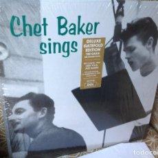 Discos de vinilo: CHET BAKER - SINGS - LP 180G EDICION 2017.. Lote 229326365