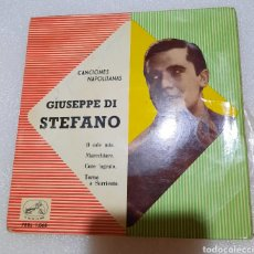 Discos de vinilo: GIUSEPPE DI STEFANO. CANCIONES NAPOLITANAS - O SOLE MIO + 3. Lote 219069792
