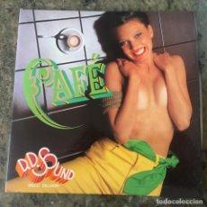 Discos de vinil: D.D. SOUND - CAFÉ . LP . 1979 HISPAVOX. Lote 219082896