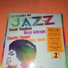 Discos de vinilo: LOS GRANDES DEL JAZZ - SARAH VAUGHAN, DIZZY GILLESPIE Y OTROS. VOL 2 - 1980. Lote 219086053