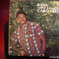 Discos de vinilo: BANA CANTA A MAGIA DE CABO VERDE- LP.. Lote 219084632