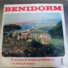 Discos de vinilo: CANCIONES DEL FESTIVAL DE BENIDORM-LP 1963 LOS BRUJOS LOLITA GARRIDO ALBERTINA CORTES. Lote 219088118