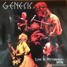 Discos de vinil: GENESIS – LIVE IN PITTSBURGH 1976 -2 LP-. Lote 227490155