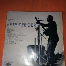 Discos de vinilo: CANTEMOS CON PETE SEEGER. VOLUMEN 2 . 1969 MOVIE PLAY . CONTIENE LIBRETO. Lote 219091271