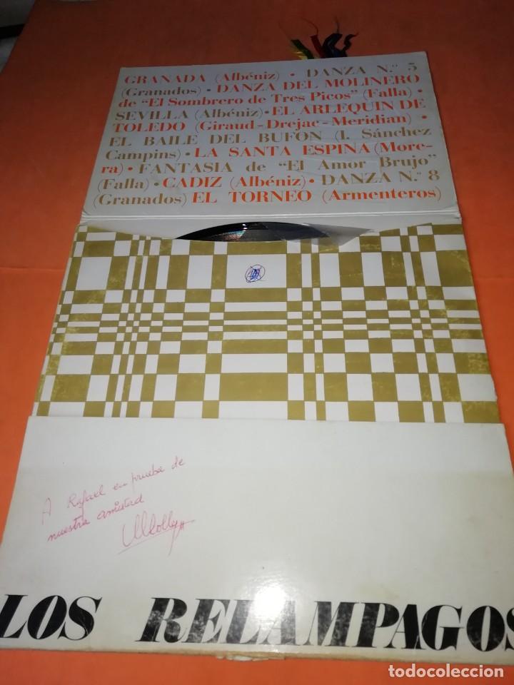 Discos de vinilo: Los Relámpagos LP. 6 Pistas Zafiro 1967. ZN 6- 3 S. - Foto 2 - 219099195