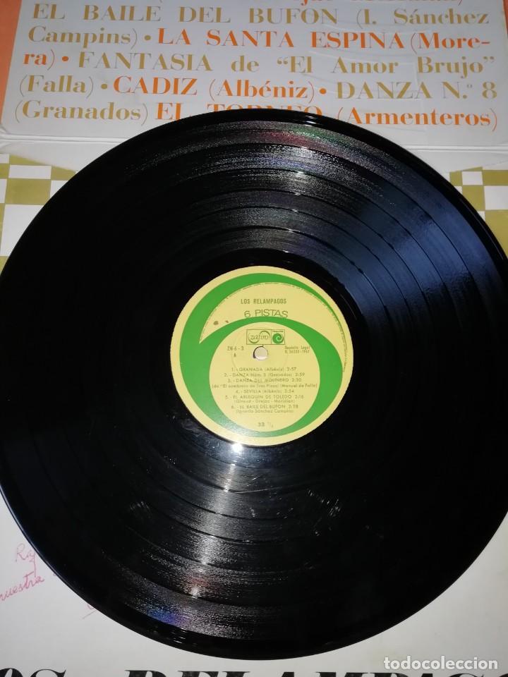 Discos de vinilo: Los Relámpagos LP. 6 Pistas Zafiro 1967. ZN 6- 3 S. - Foto 5 - 219099195