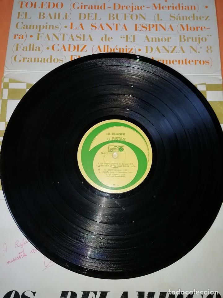 Discos de vinilo: Los Relámpagos LP. 6 Pistas Zafiro 1967. ZN 6- 3 S. - Foto 7 - 219099195