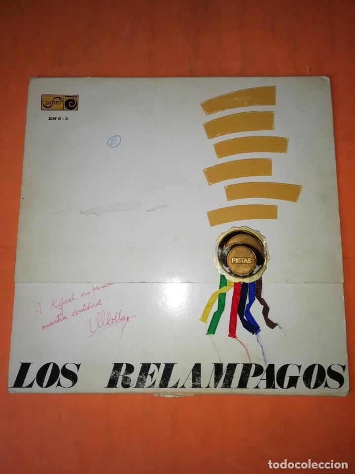 LOS RELÁMPAGOS LP. 6 PISTAS ZAFIRO 1967. ZN 6- 3 S. (Música - Discos - LP Vinilo - Grupos Españoles 50 y 60)
