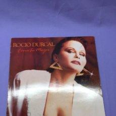 Discos de vinilo: LP -- ROCIO DURCAL -- COMO TU MUJER -- VG. Lote 219103792