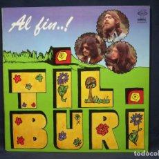 Discos de vinilo: TILBURI - AL FIN...! - LP. Lote 219112346