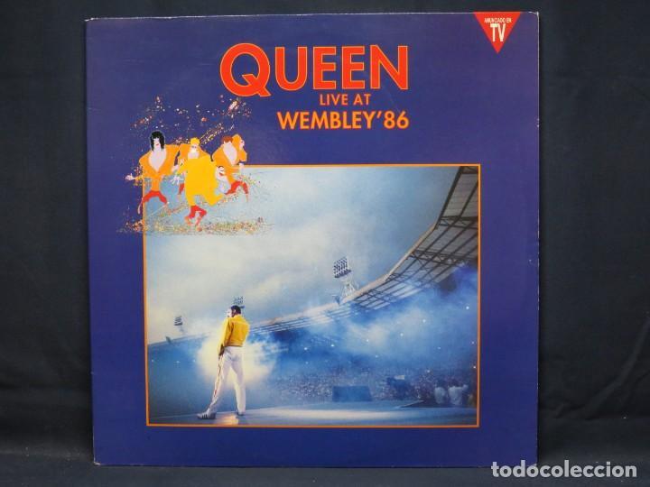 QUEEN - LIVE AT WEMBLEY 86 - 2 LP (Música - Discos - LP Vinilo - Pop - Rock - New Wave Internacional de los 80)