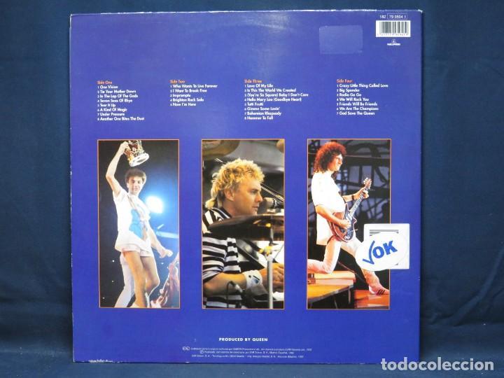 Discos de vinilo: QUEEN - LIVE AT WEMBLEY 86 - 2 LP - Foto 2 - 219112663
