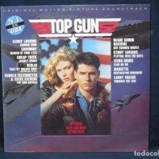 Discos de vinilo: TOP GUN - BANDA SONORA - LP. Lote 219112791