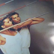 Discos de vinilo: ROXY MUSIC FLESH + BLOOD. Lote 219123576