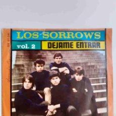 Discos de vinilo: LOS SORROWS - DÉJAME ENTRAR EP. Lote 219128670