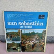Discos de vinilo: LP SAN SEBASTIAN EN FIETAS. Lote 219130600