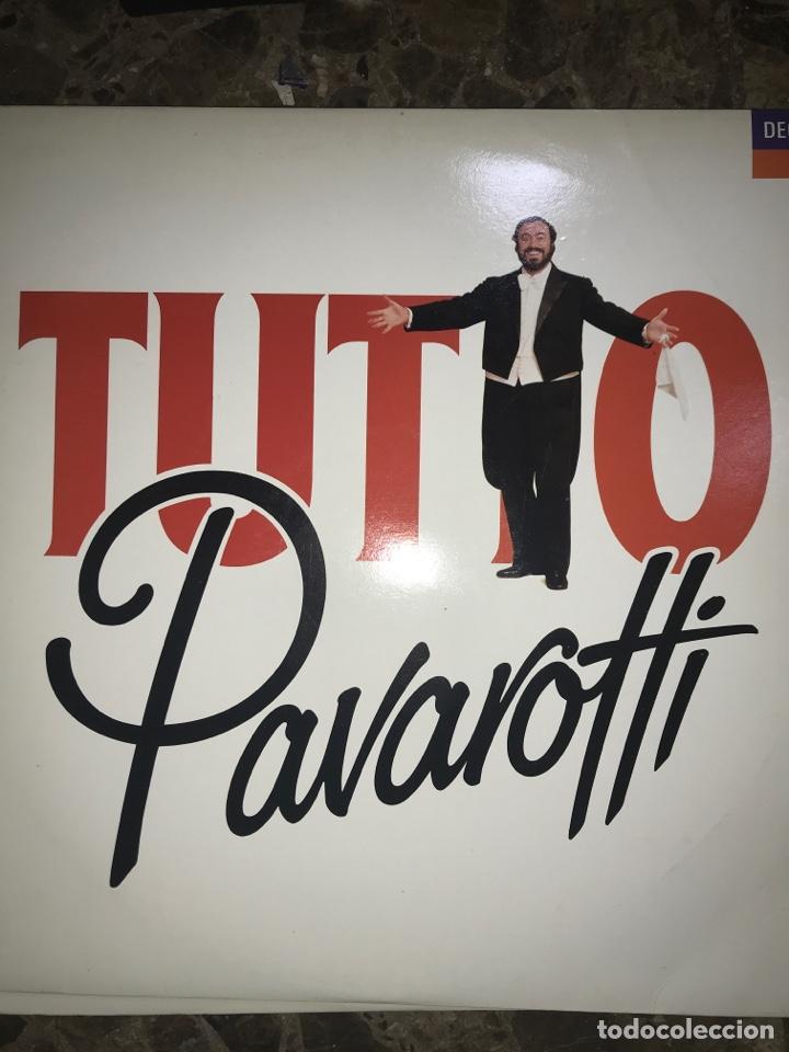 LOTE 2 VINILO PAVAROTTI (Música - Discos de Vinilo - Maxi Singles - Clásica, Ópera, Zarzuela y Marchas)